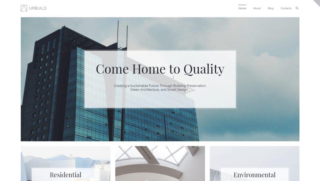 Лучшие шаблоны WordPress для портфолио с образцами и красивыми галереями 30