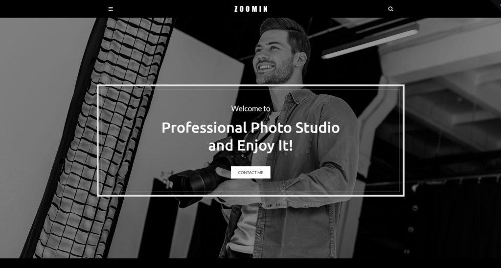 Лучшие шаблоны WordPress для портфолио с образцами и красивыми галереями 31