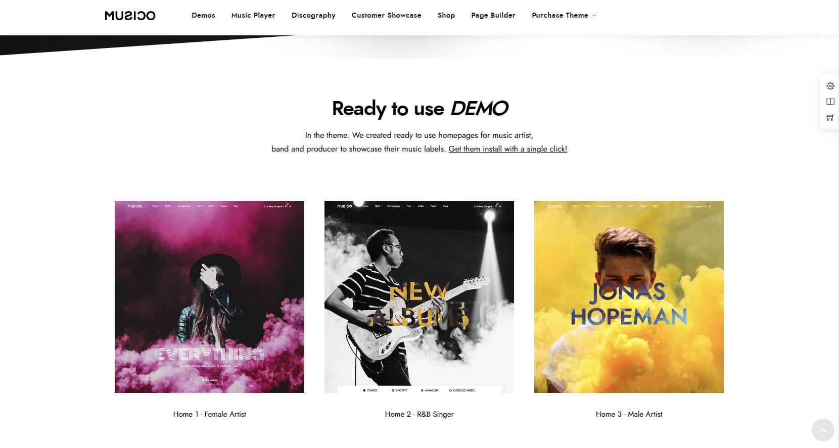 сделать сайт по музыке бесплатно