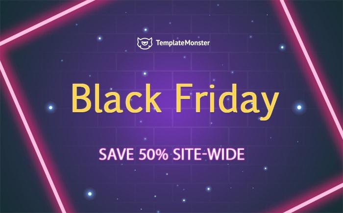 Черная Пятница! Готовые шаблоны по наилучшим ценам от TemplateMonster