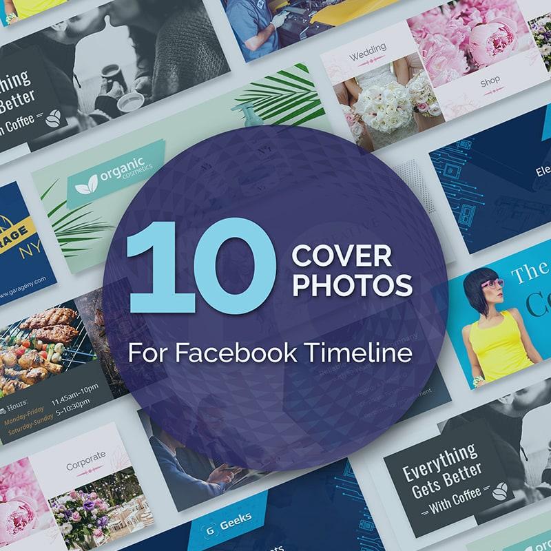 Бандл обложек для Facebook
