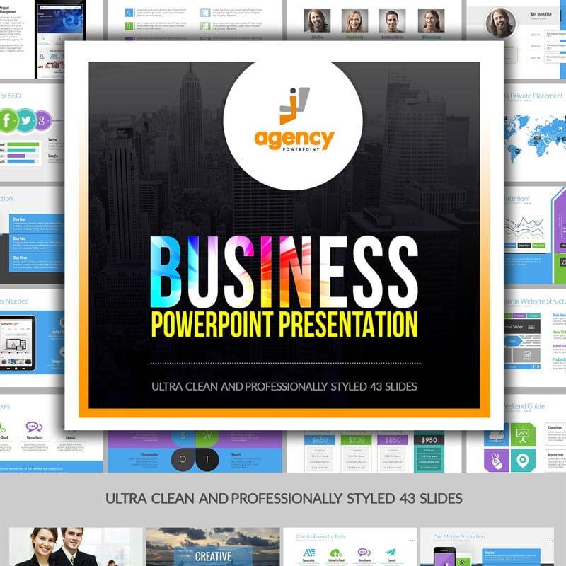 PowerPoint шаблон Multipurpose Business Presentation