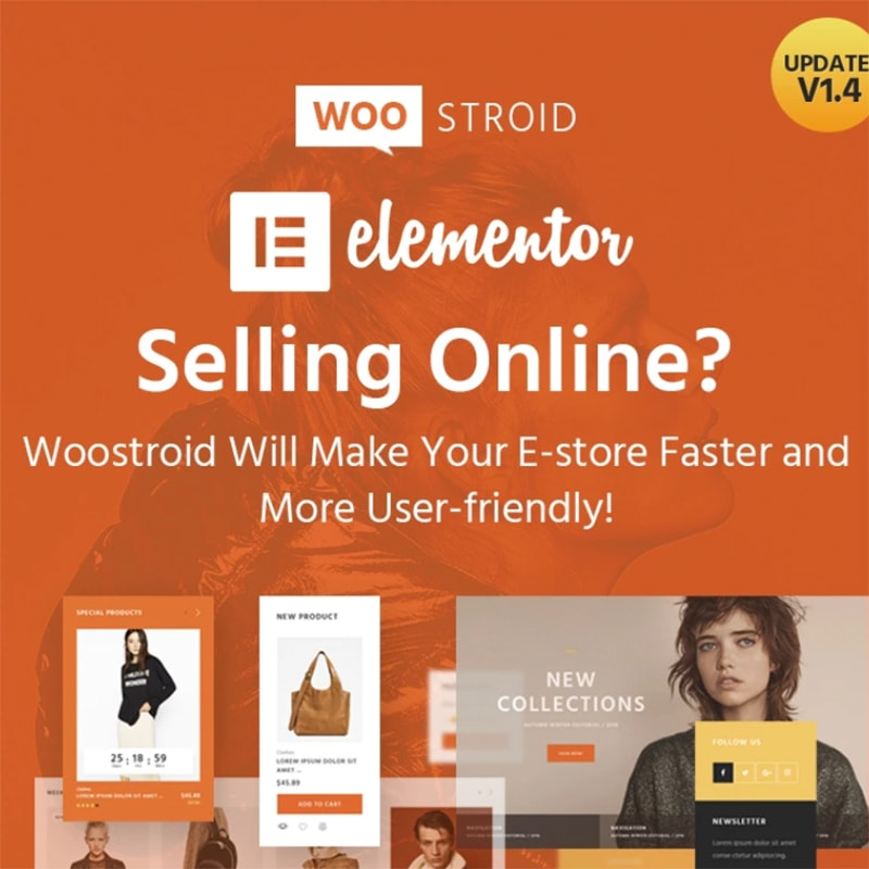 Woostroid - многоцелевой WooCommerce шаблон