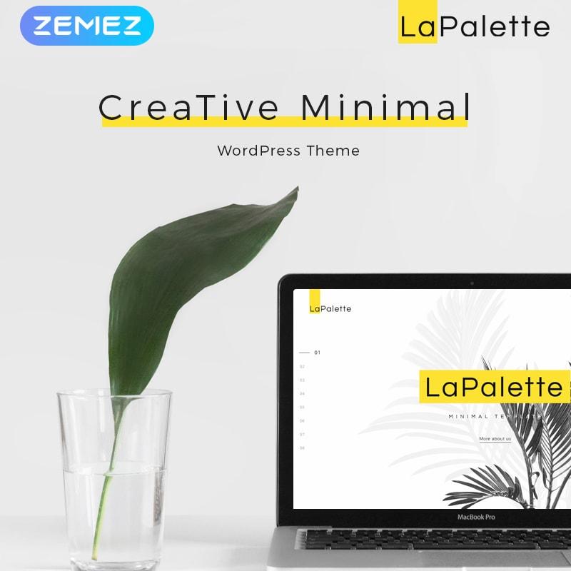 La Palette - Минималистичный Elementor WordPress шаблон сайта
