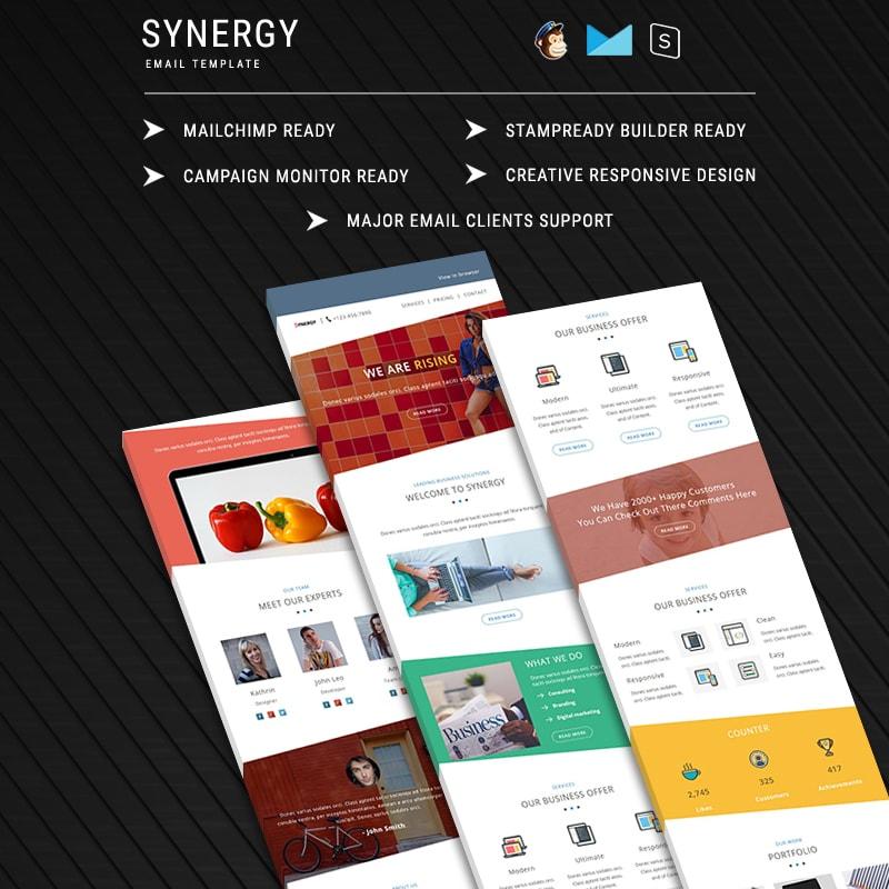 SYNERGY - Адаптивный шаблон email письма
