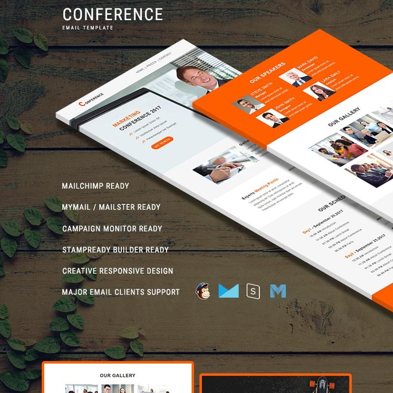 Шаблон рассылки Conference - Responsive