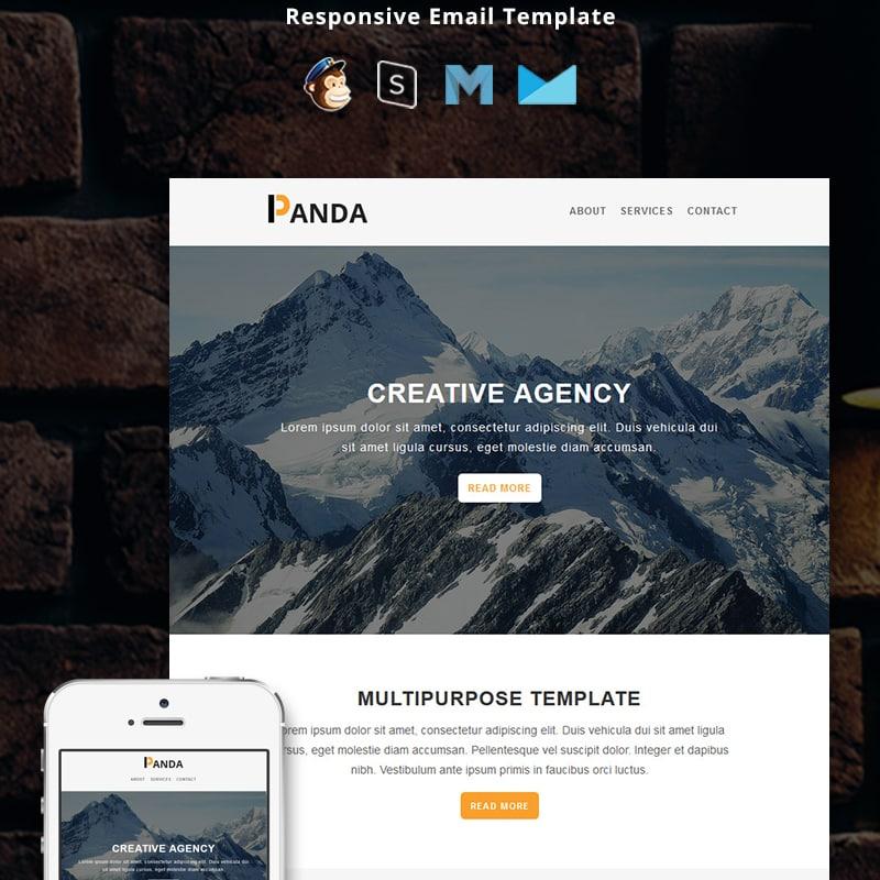 Шаблон рассылки Panda - Corporate Responsive Email